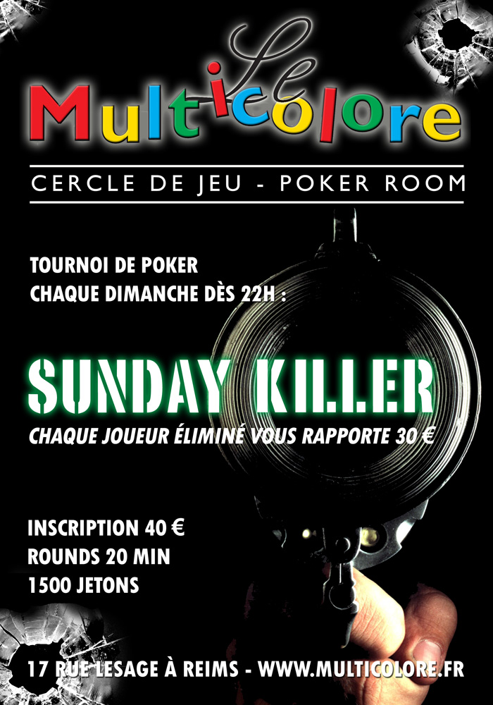 Multicolore reims poker