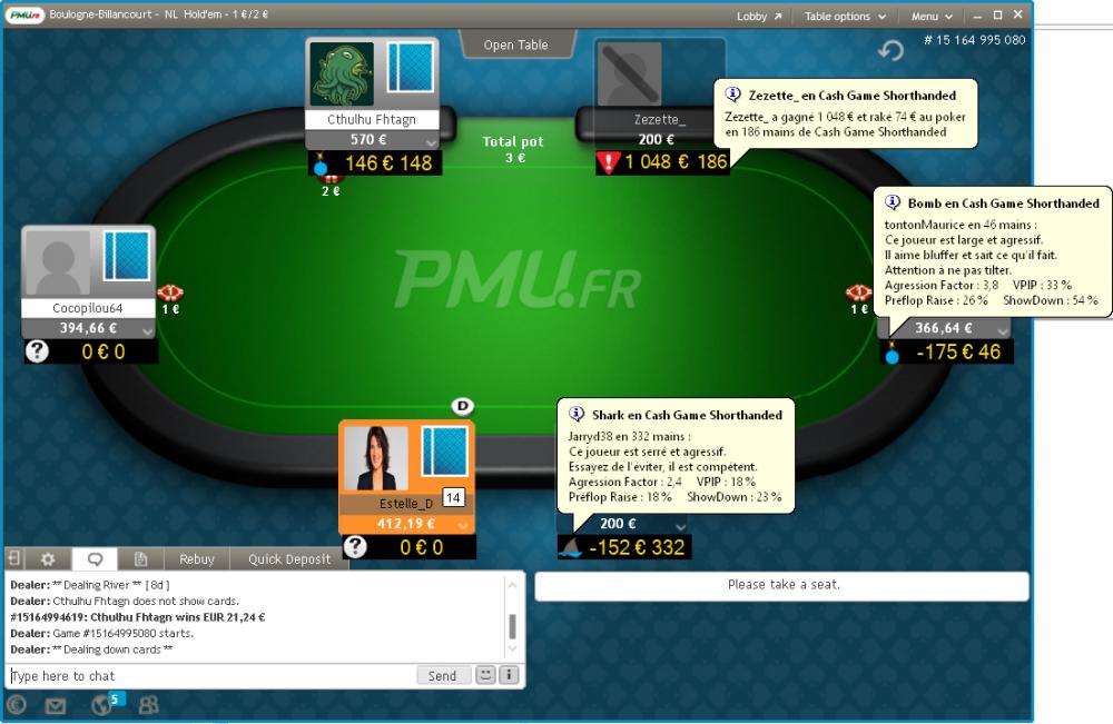 poker calculator le tracker pmu poker sharkscope illimit en 3 fois moins cher page 4 pmu. Black Bedroom Furniture Sets. Home Design Ideas