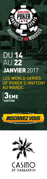 Casino Marrakech : WSOP