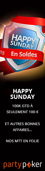 PartyPoker : Happy Sunday