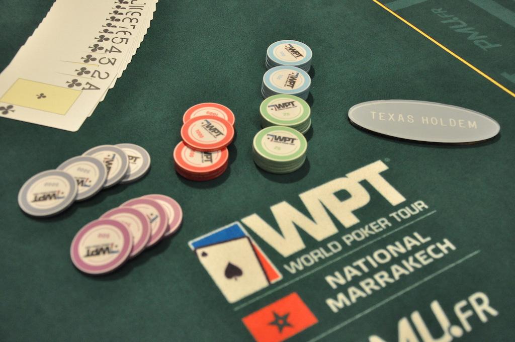 Poker jetons depart