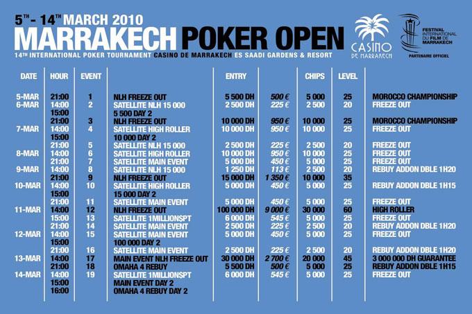 Open poker marrakech 21 blackjack hd
