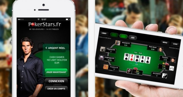 PokerStars sur iPhone