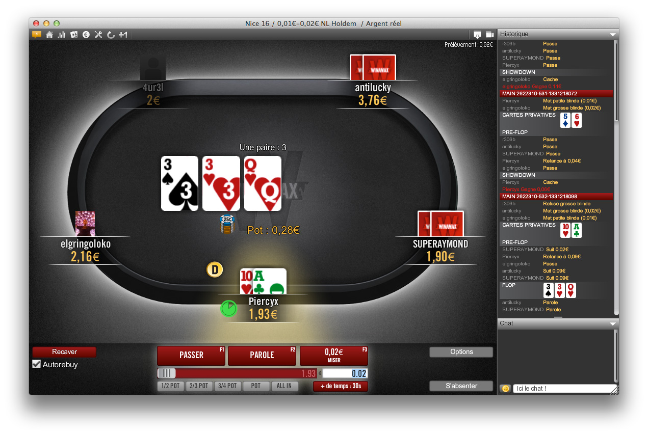 tracker poker winamax