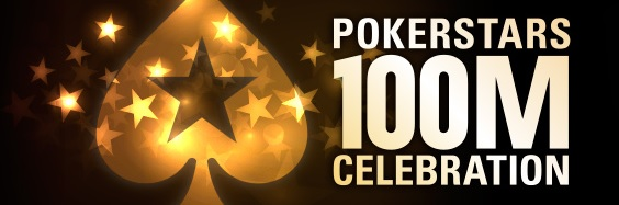 100 Million Celebration : 14 missions et 100 000 € offerts sur PokerStars