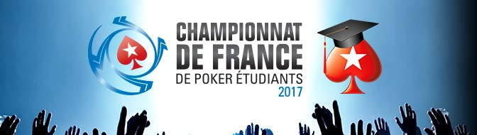 Championnat de France de Poker Étudiants : PokerStars remet le couvert
