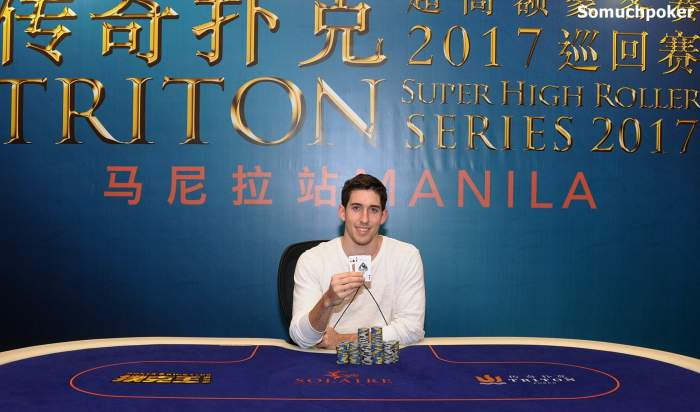 Triton Super High Roller Series : Dan Colman au top de sa forme