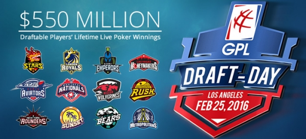Global Poker League : les 203 joueurs disponibles pour la draft