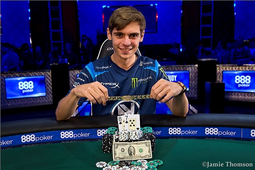 WSOP One Drop High Roller : monstrueux Fedor Holz !