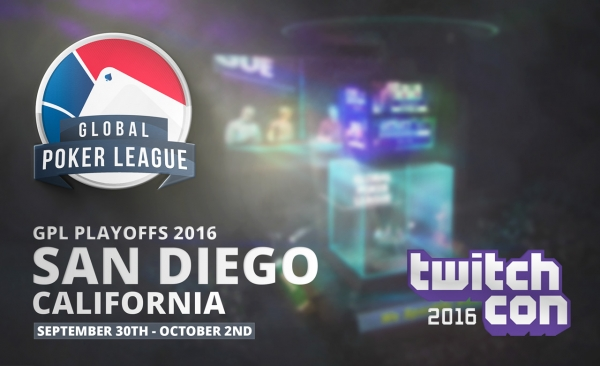 Global Poker League : les playoffs pendant la TwitchCon