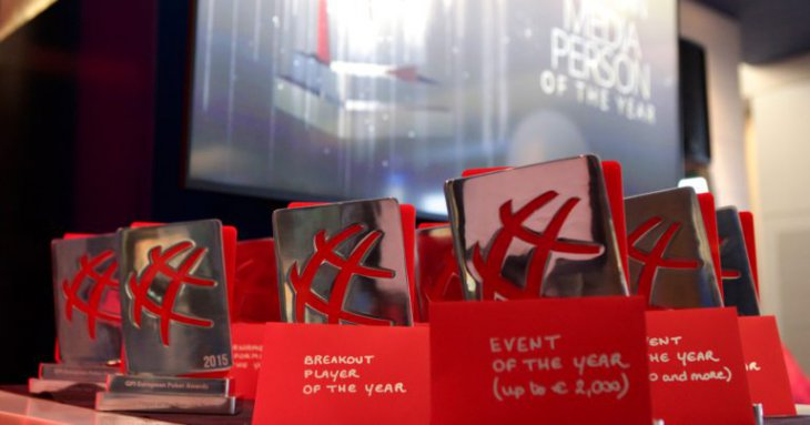 GPI European Poker Awards : le palmarès 2016