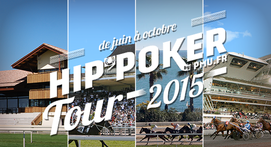 Hip'Poker Tour : la finale à Vincennes ce week-end