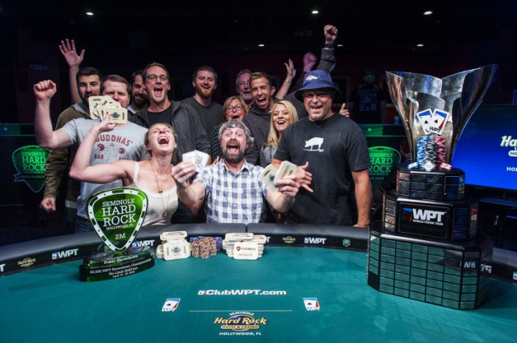 Justin Young vainqueur du WPT Seminole Hard Rock Poker Showdown