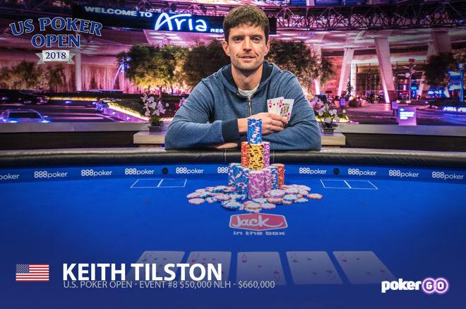 US Poker Open : le Main Event pour Keith Tilston, Stephen Chidwick au sommet