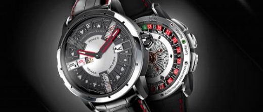 Poker : la montre automate d'exception signée Christophe Claret