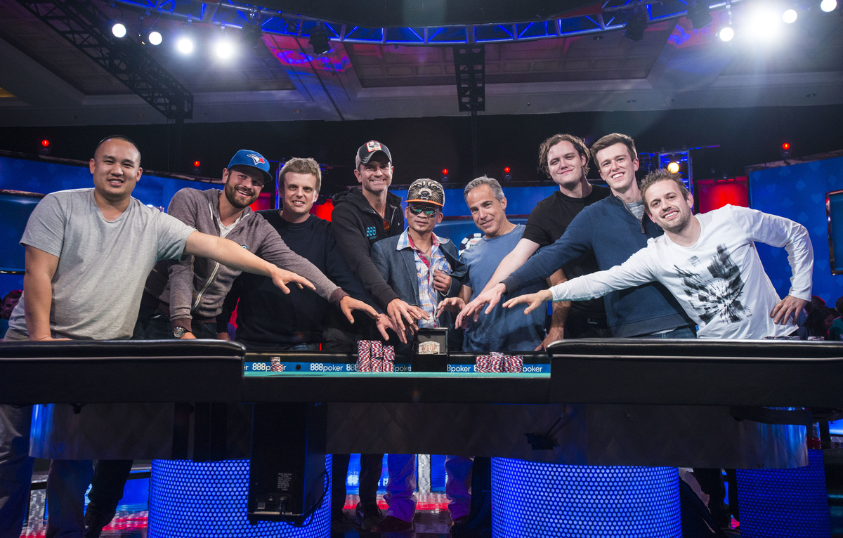 Main Event WSOP : les November Nine 2016 sont...