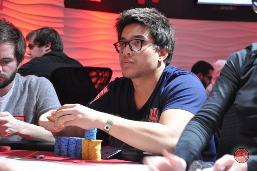 Winamax Poker Tour : Pierre Calamusa en pole sur le High Roller