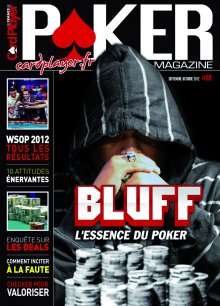 Poker Magazine n°69 : le bluff, l'essence du poker