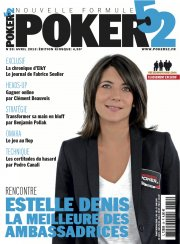 Poker52 avec Estelle Denis