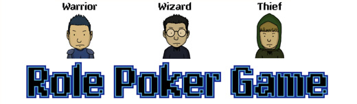 Drawing Poker : Role Poker Game