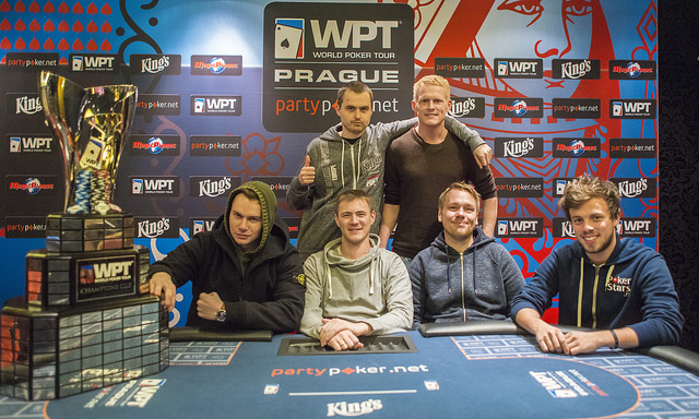 Romain Lewis en table finale du WPT Prague