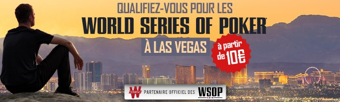 WSOP 2017 : les satellites de Winamax pour le Main Event et le Monster Stack