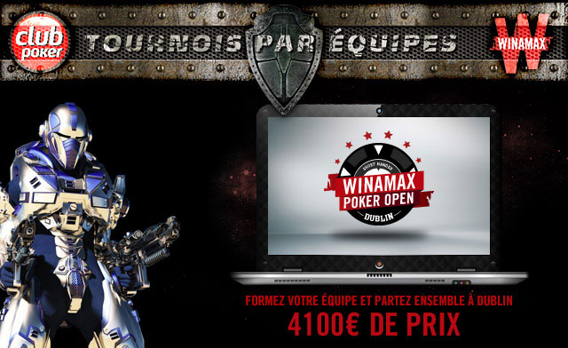 Summer Team Championship : direction le Winamax Poker Open de Dublin !