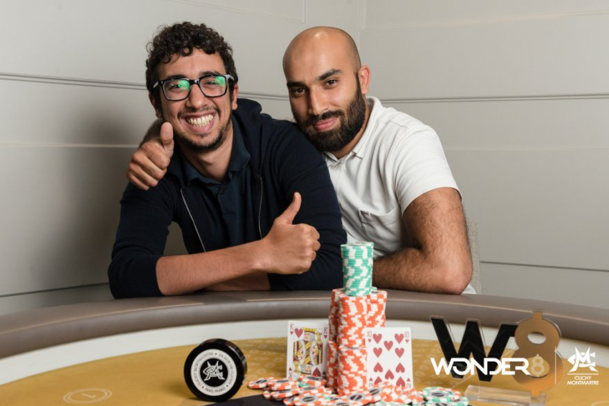 Mohamed Mokrani, grand vainqueur du Wonder 8 Main Event