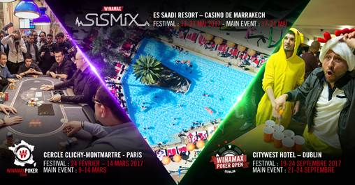 Sismix Marrakech et WPO Dublin : save the dates !