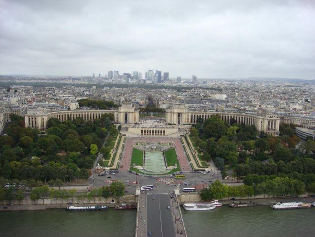 Trocadéro, la Défense