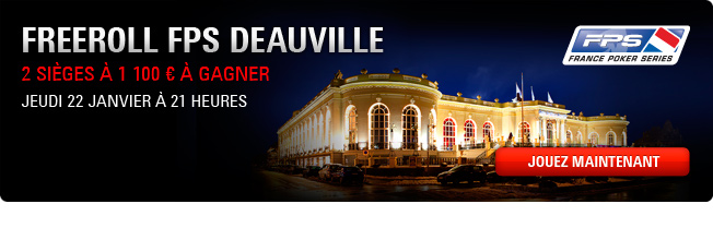 Freeroll Fps deauville