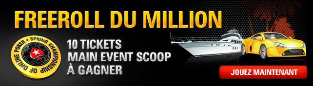 Freeroll du Million