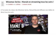 Les WSeries chez Manub