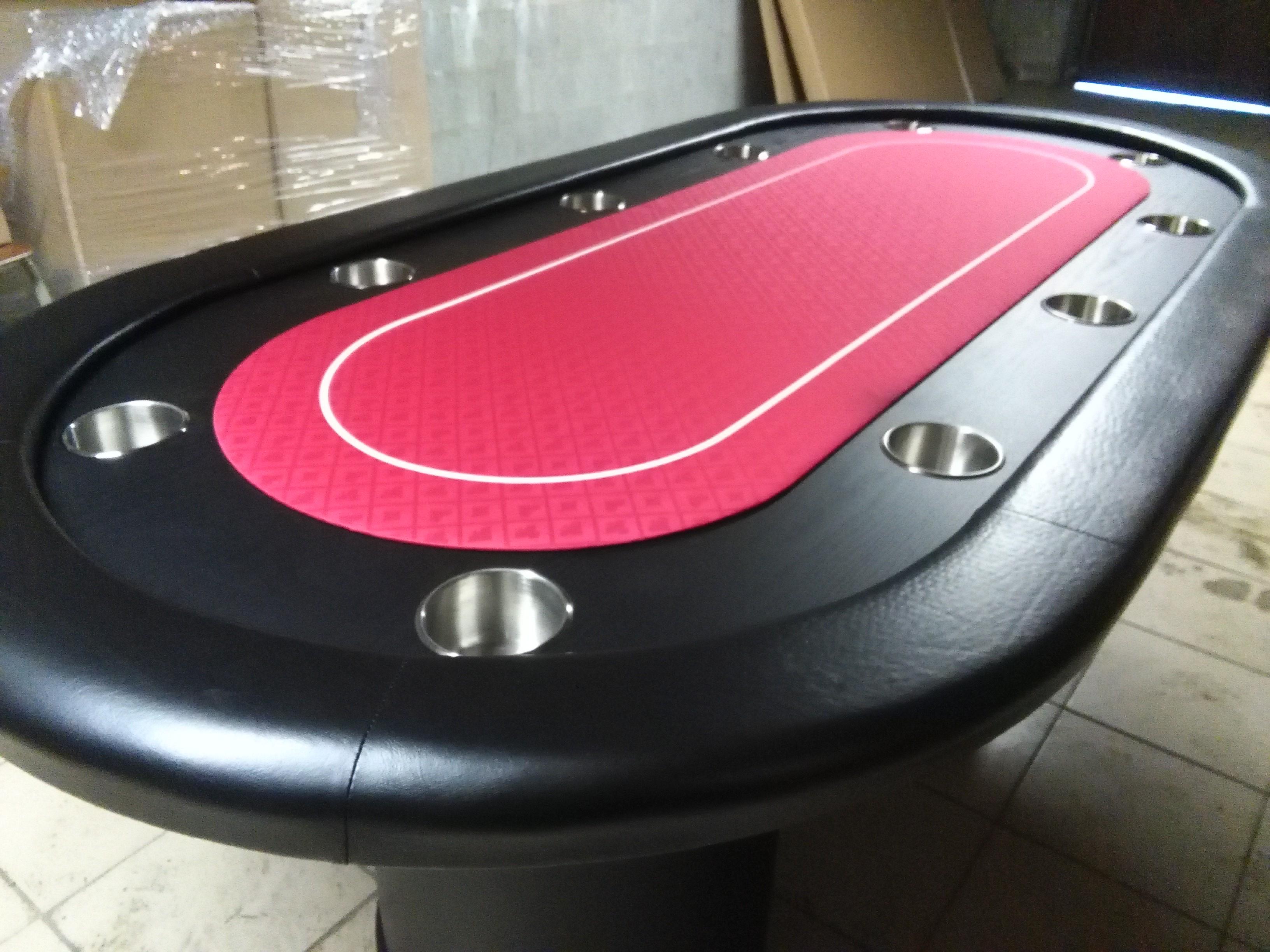 Wts Tables De Poker De Luxe Avec Race Track Pour 10 Joueurs