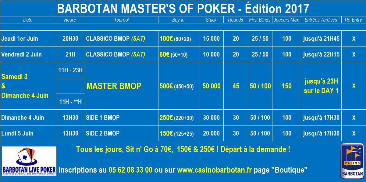 Programme poker barbotan 2p2 poker goals