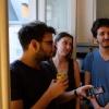 Jonas, Clémentine, Vincent et Piercy