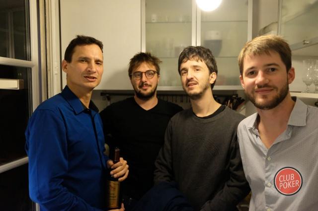 calouminou, Horn3t, Zozo et Simon