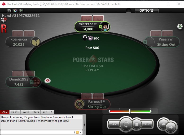 Serveur poker star play