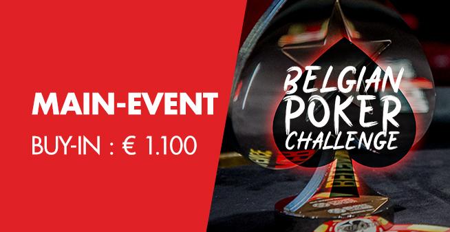 Belgian Poker Challenge - Main Event - DAY 1C
