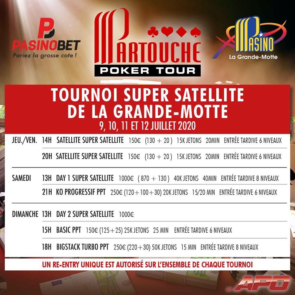 Sit & Go Partouche Poker Tour