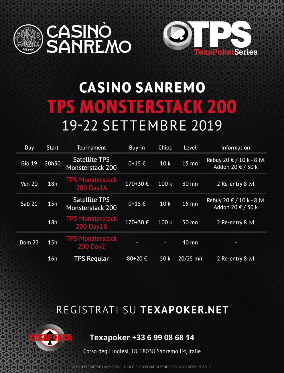 Sat Monsterstack 200