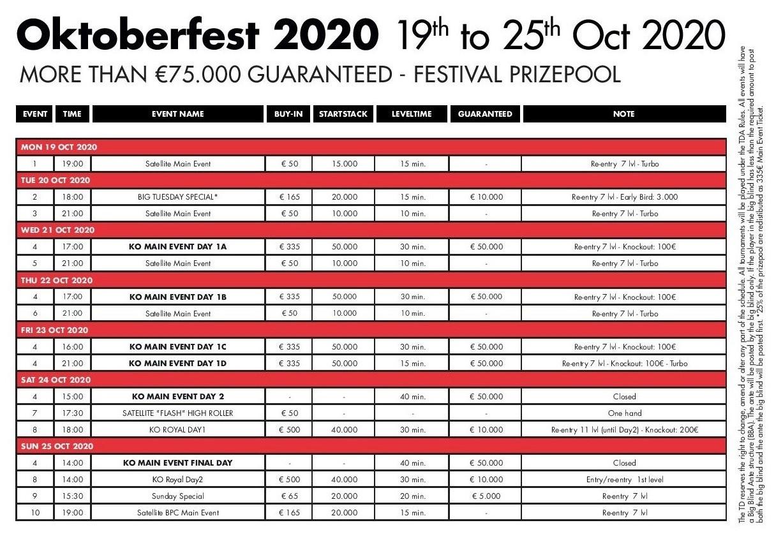 Oktoberfest - KO Main Event Day1B