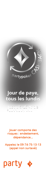 PartyPoker : Cash back