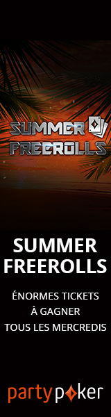 PartyPoker : Summer Freerolls