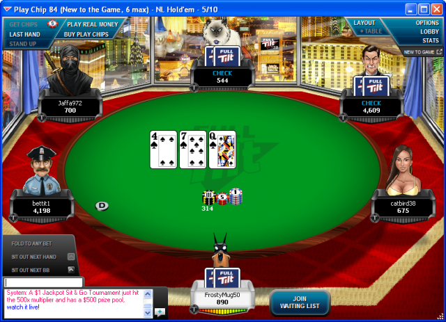 Full Tilt Poker UK Avatar Diversity