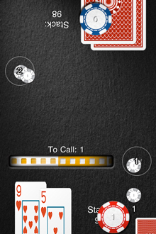 Heads Up Hold'em iPhone