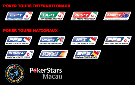 PokerStars circuits live