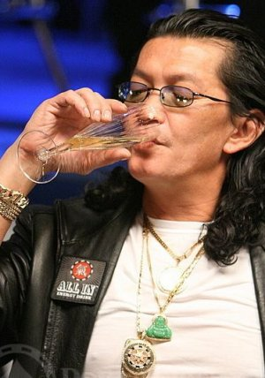 Scotty Nguyen champagne