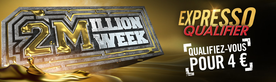Winamax : le 3 Million Event KO se termine, la 2 Million Week arrive