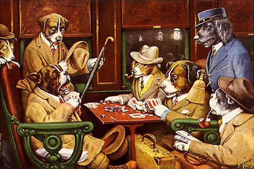 200112 Dogs playing Poker Coolidge